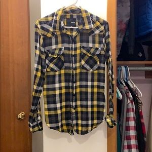 Hurley Tops - Hurley flannel style shirt